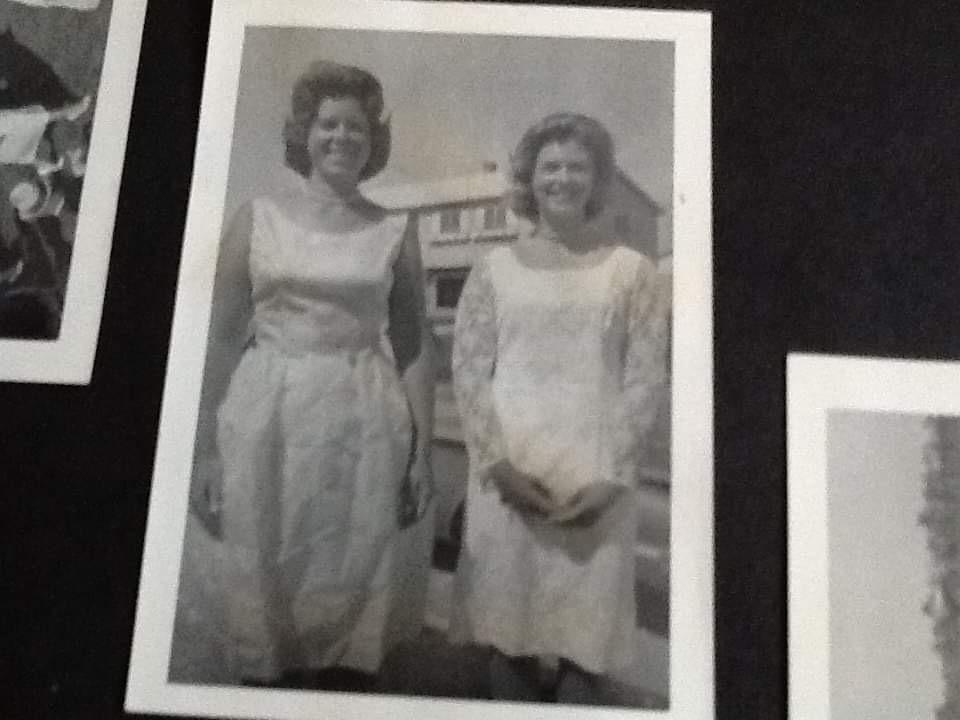 Karen and I high school graduation June 1965