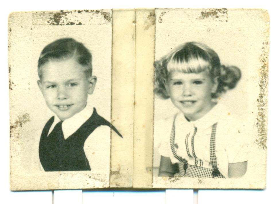 School pics circa 1954