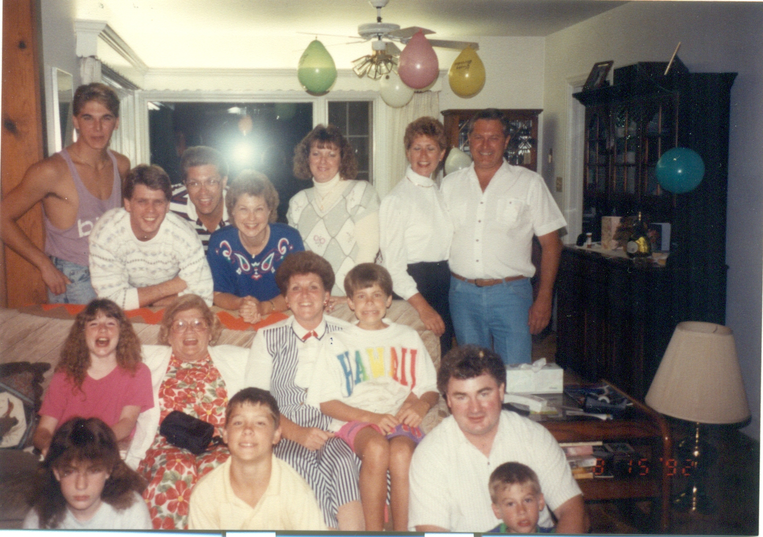 Family Reunion in Albany c. 1992