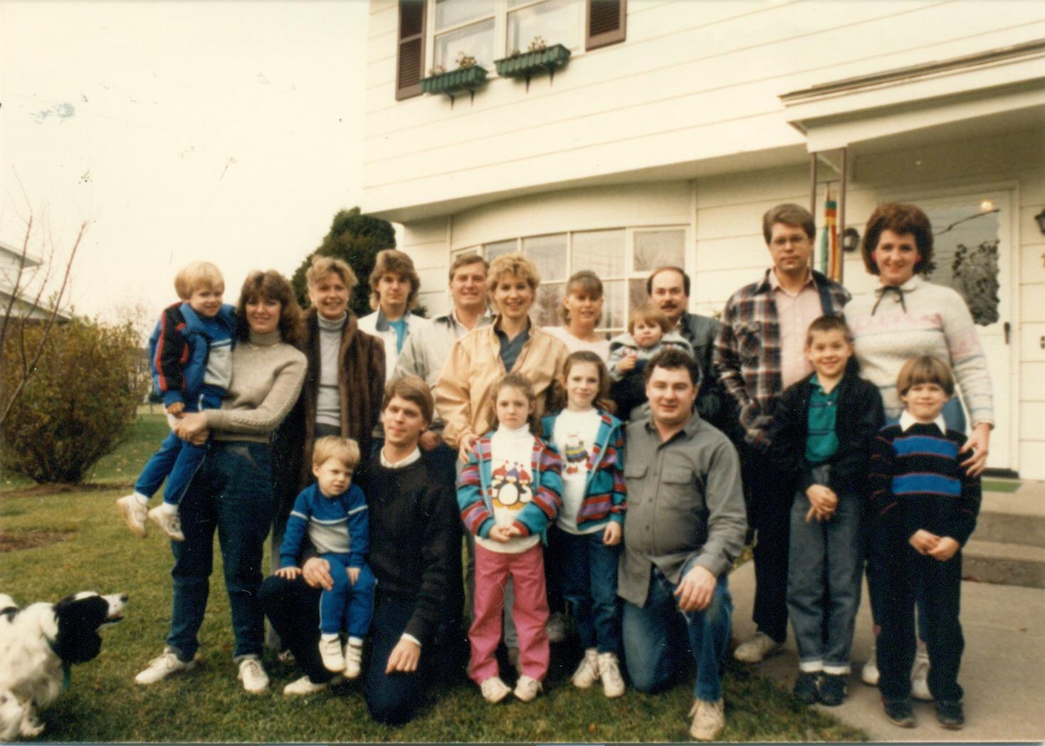 Family Reunion c. 1986