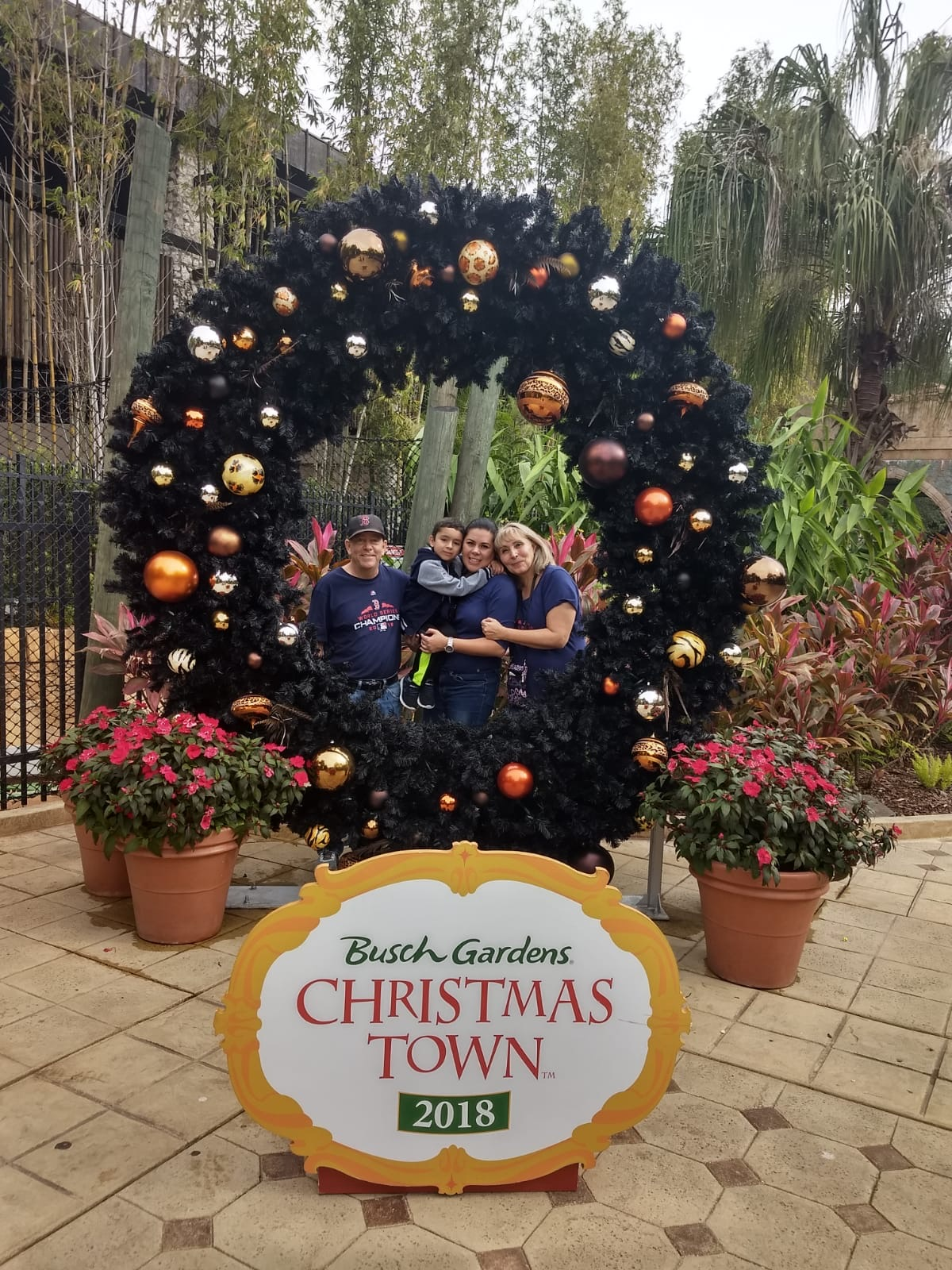 Our Christmas trip! We really had a great time. This is how I remember him, only having great moments!