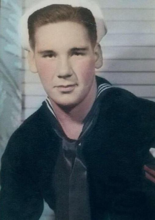 Dad in the U.S. Navy