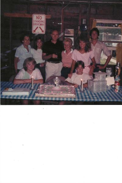God bless our brother in heaven pictured here with our family to include Mom, Dad, Shelly, Beeper, Nettie, Georgie and Grammy!<br /> I know you are in heaven fishing at Sodus Bay with Georgie!! I hope you both catch a Great Northern!<br /> Love forever your big Sister!