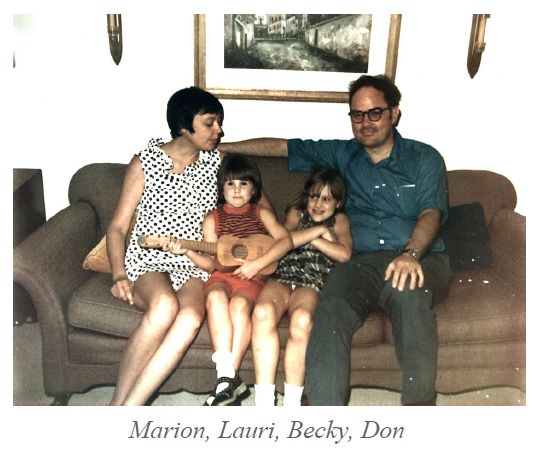 Marion, Lauri, Becky, Don
