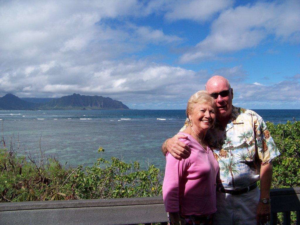 Mom & Bill in Hawaii