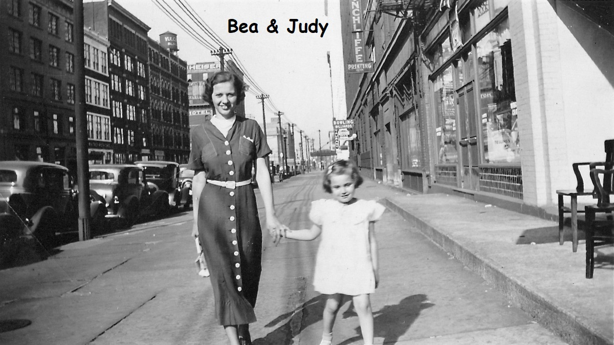 Judy with her Mother Beatrice
