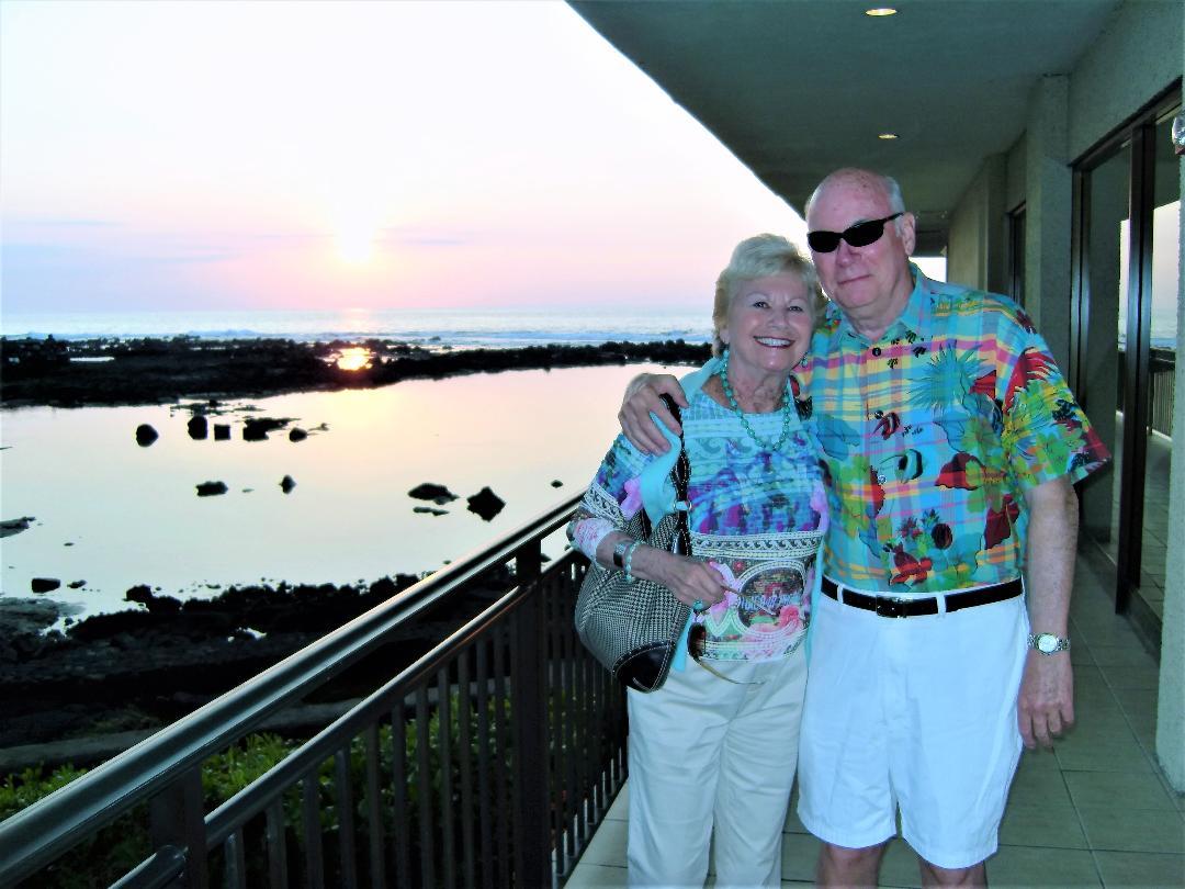 Bill & Judy ~ Big Island, Hawai'i