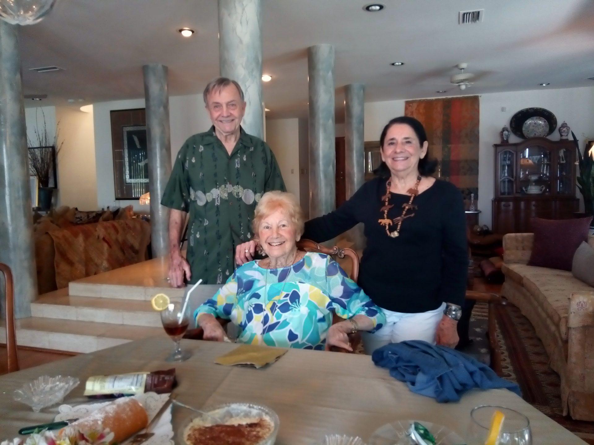 Judy with Charles & Rosita