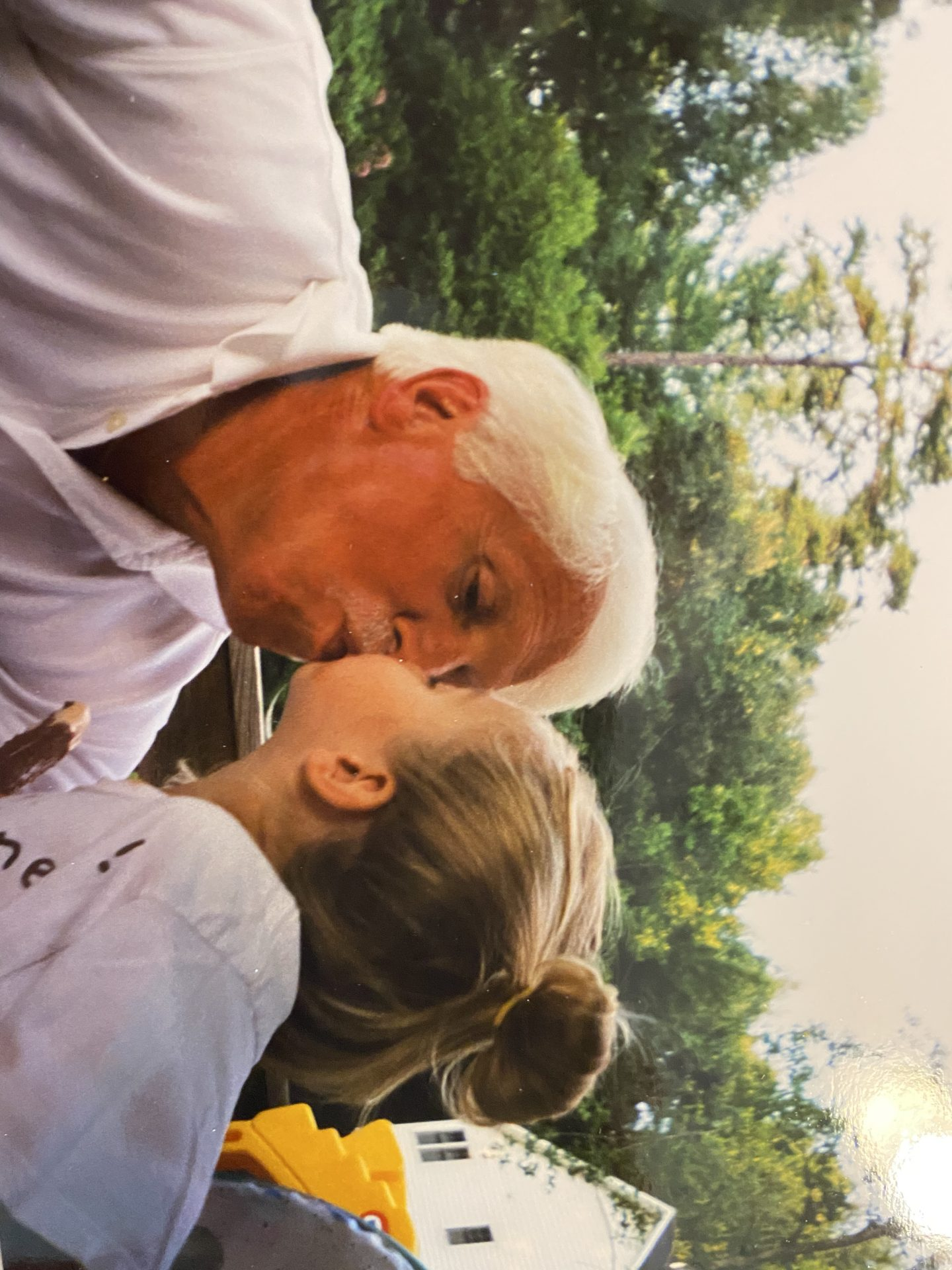 Hannah and Grandpa!