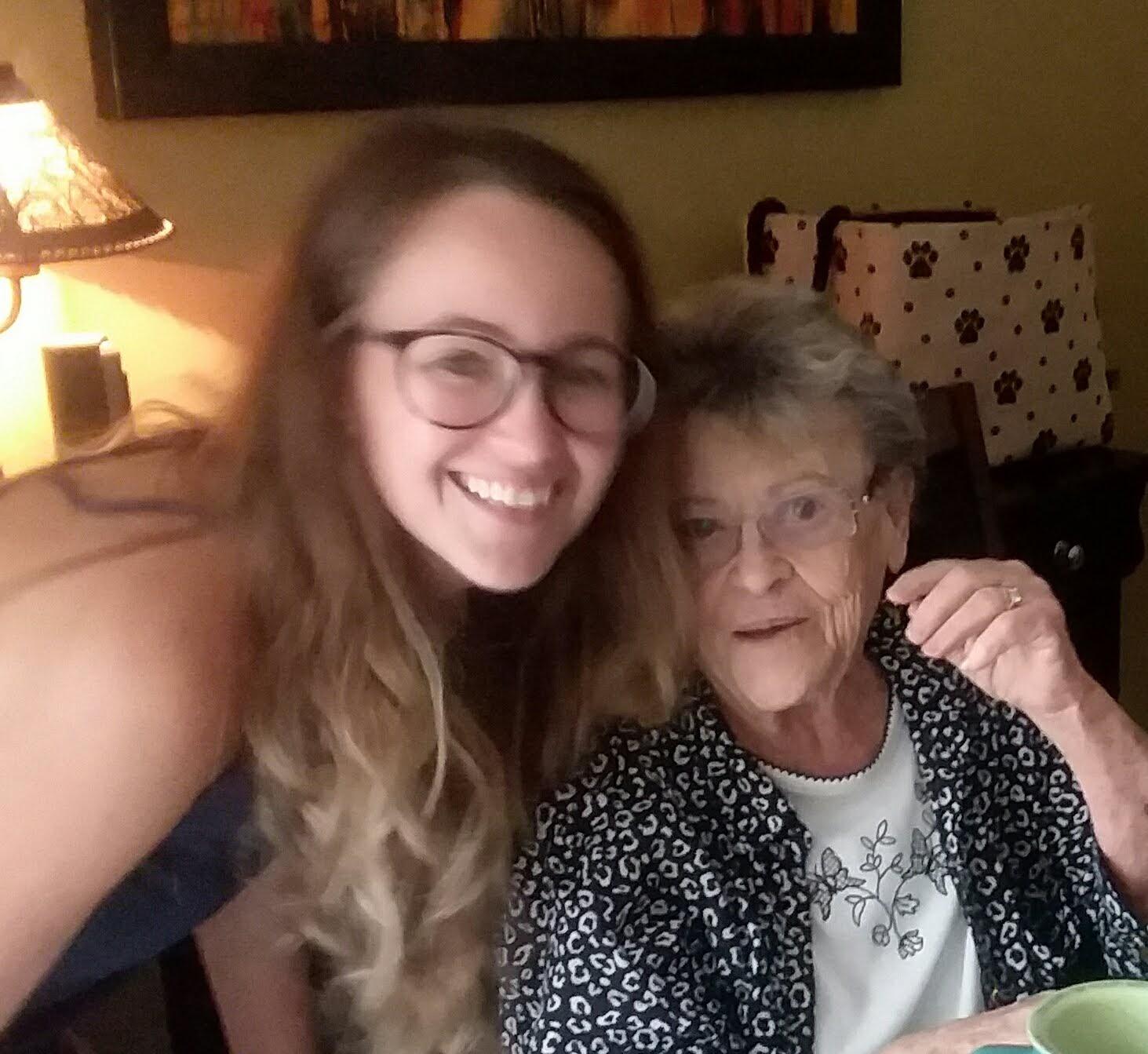Lauren and her Grandma