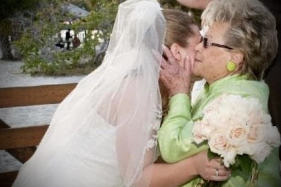 Grandma and me at my wedding. Will miss your hugs and kisses. Thank you for everything. Love you always Grandma!❤️ xoxo