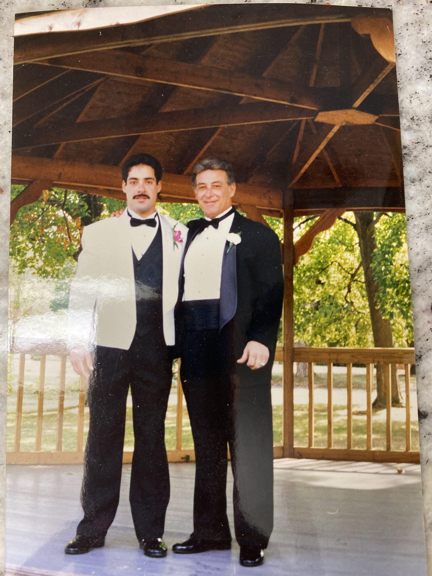 Dad and Rick at his wedding❤️