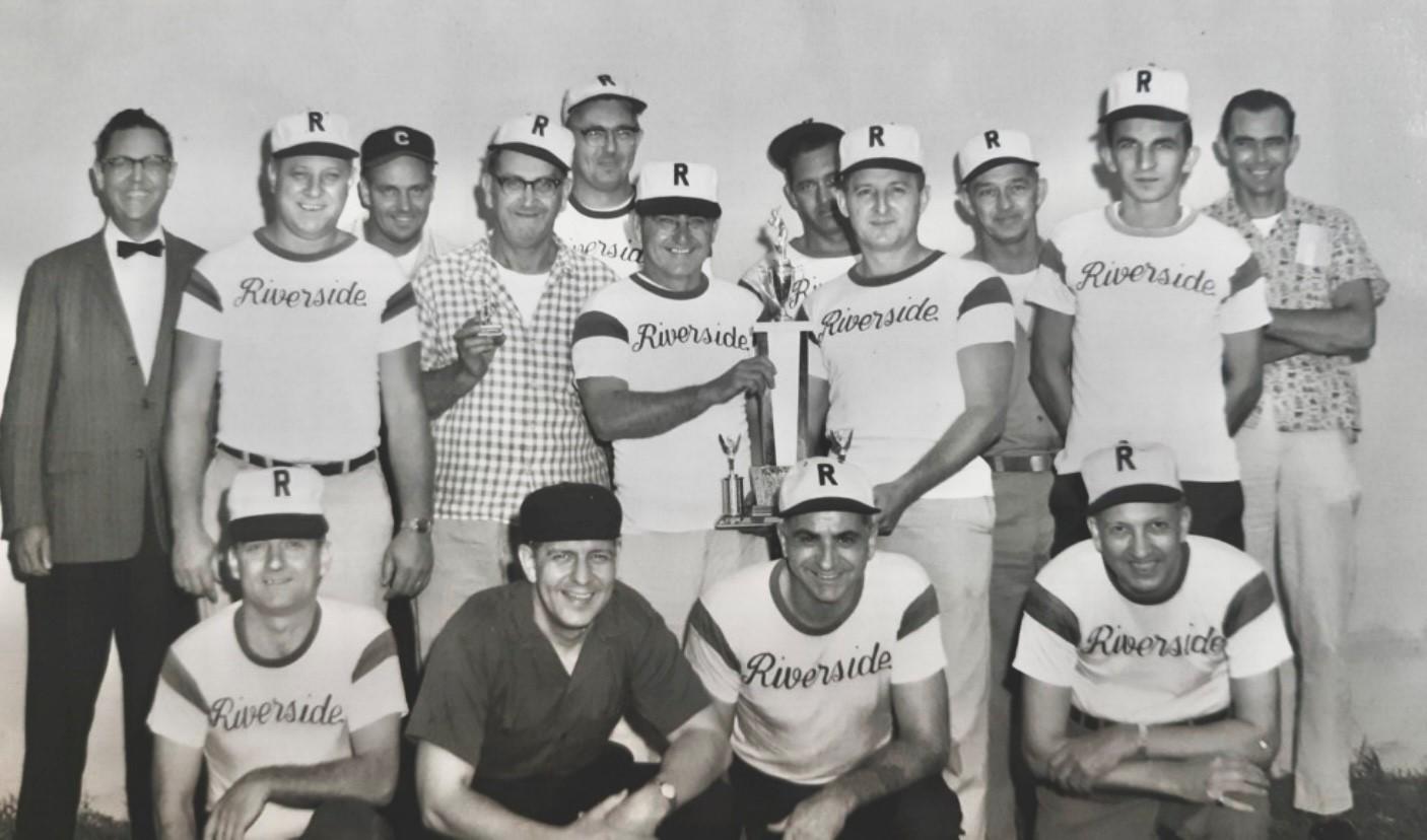 BGE Riverside ball team
