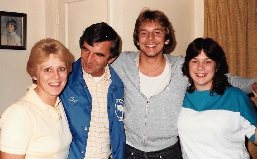 Carol, Tom, Wayne & Sandy (1981)