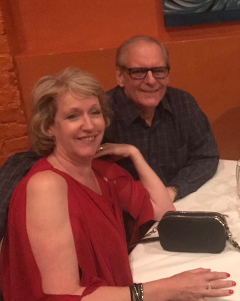 Beverley and Frank at 2019 BFHS reunion in New Orleans.
