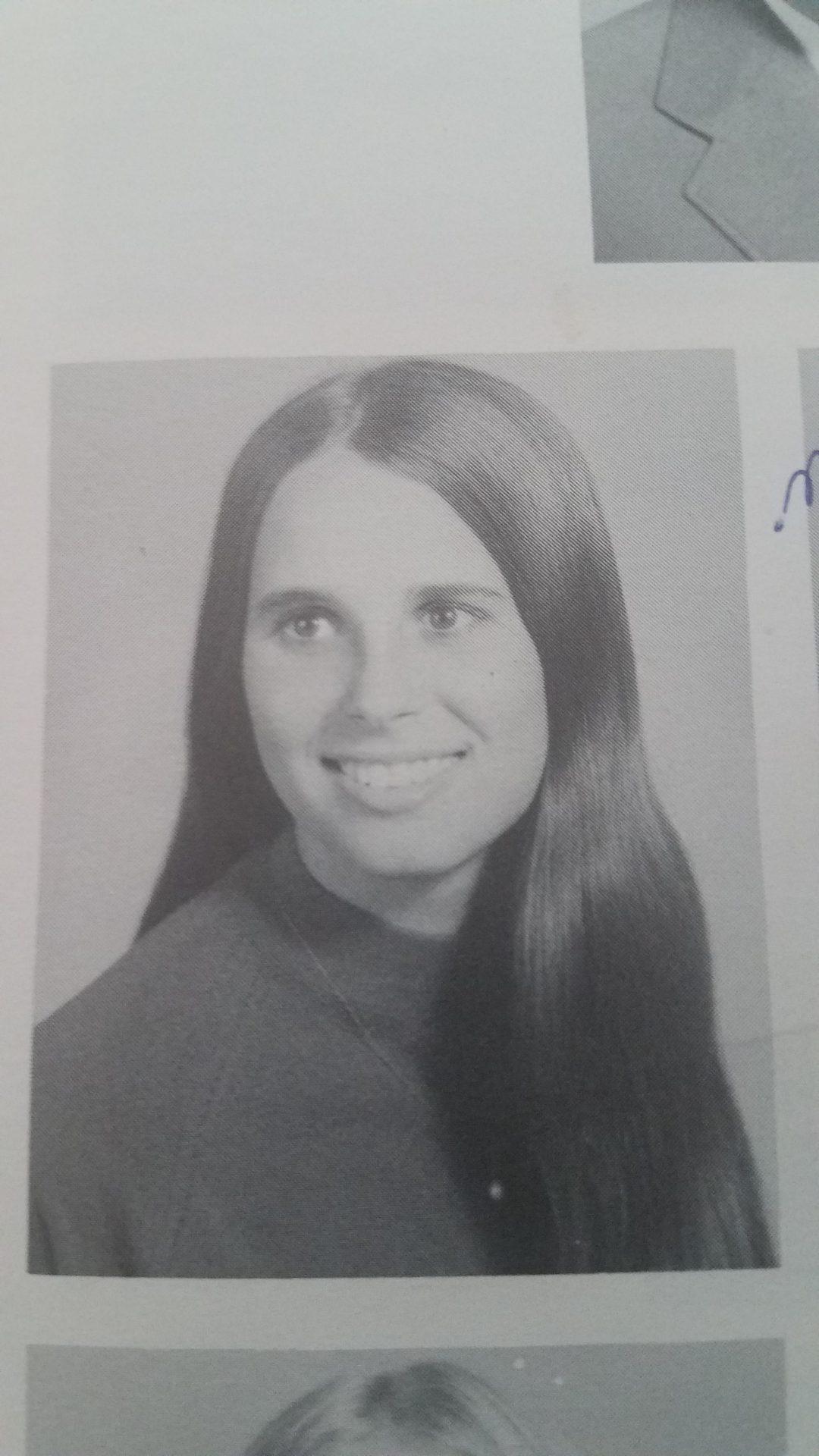 Sheila Mann<br /> 1973 senior picture