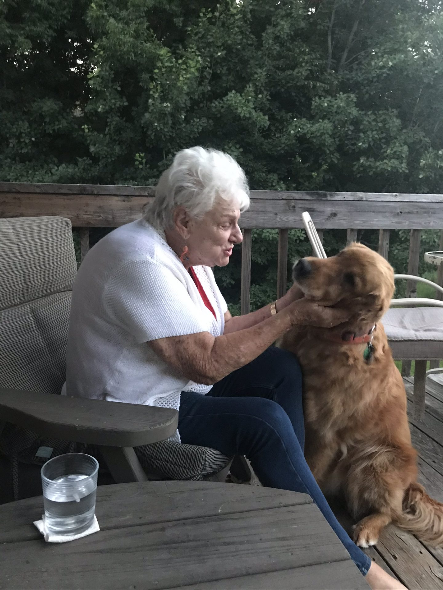 Donna and Bear