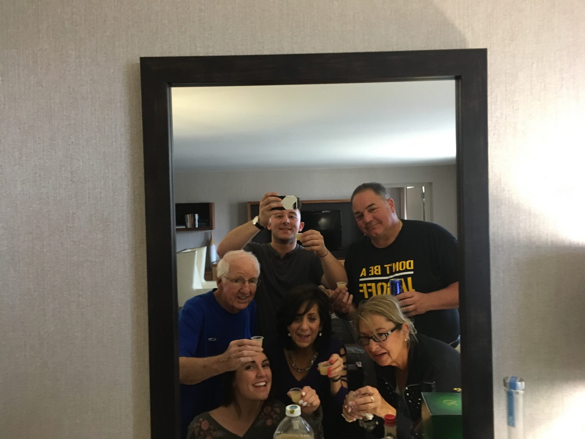 Getting ready for Nicole and Matt's wedding. Always a good time with uncle Donnie.   Him and aunt Shirley were so much help. Not sure what I would have done without them.  Love you both so much. I/we will miss you uncle Donnie.  With more love than you knew. Patty and Nick D