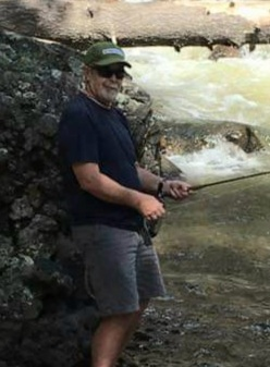 Fishing the Piedra River in Pagosa Springs.<br /> I miss you my friend.
