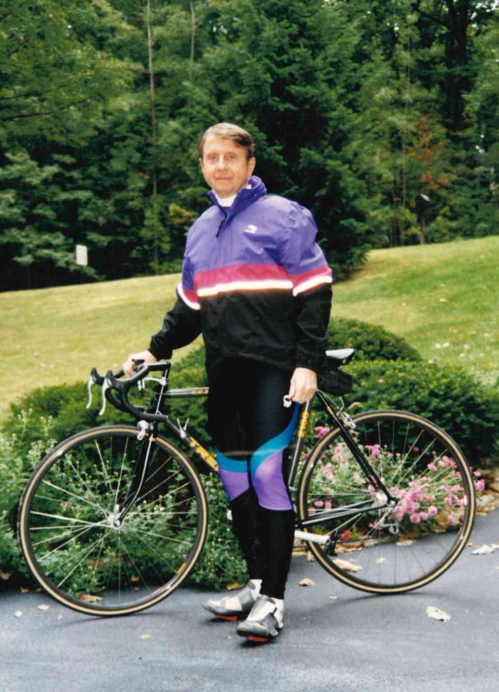 George loved to bike