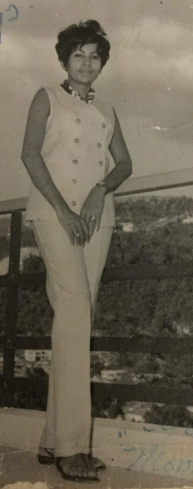In the hills of Kingston Jamaica.<br /> She was 34 Yrs. old