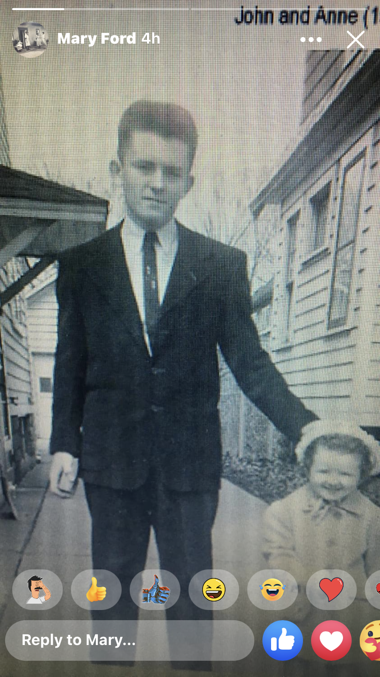 Dad at 14 and Aunt Anne