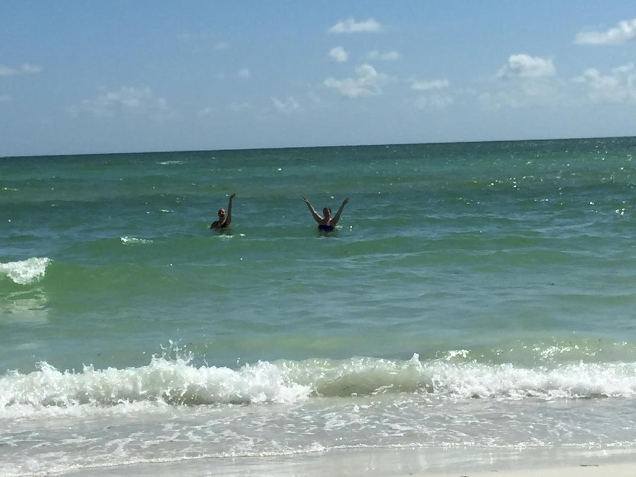 With Courtney, Lido Key FL