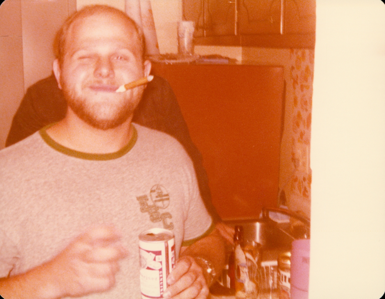 Picture of my roommate in college, Brian Bonner. Rest in Peace Brian.