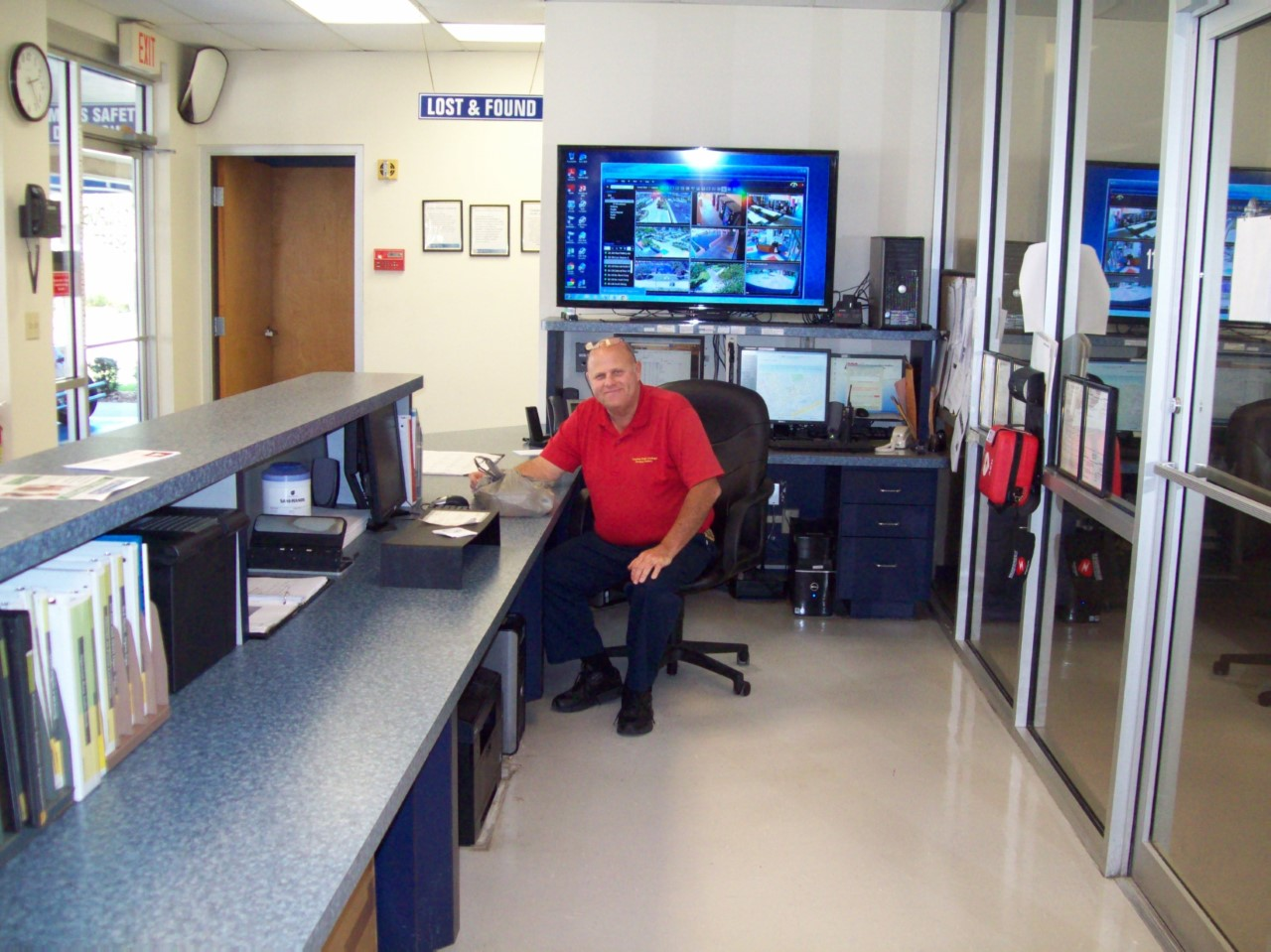 Picture of Brian Bonner that I took at work, (Campus Safety).<br /> Respectfully,<br /> Charles Hinton