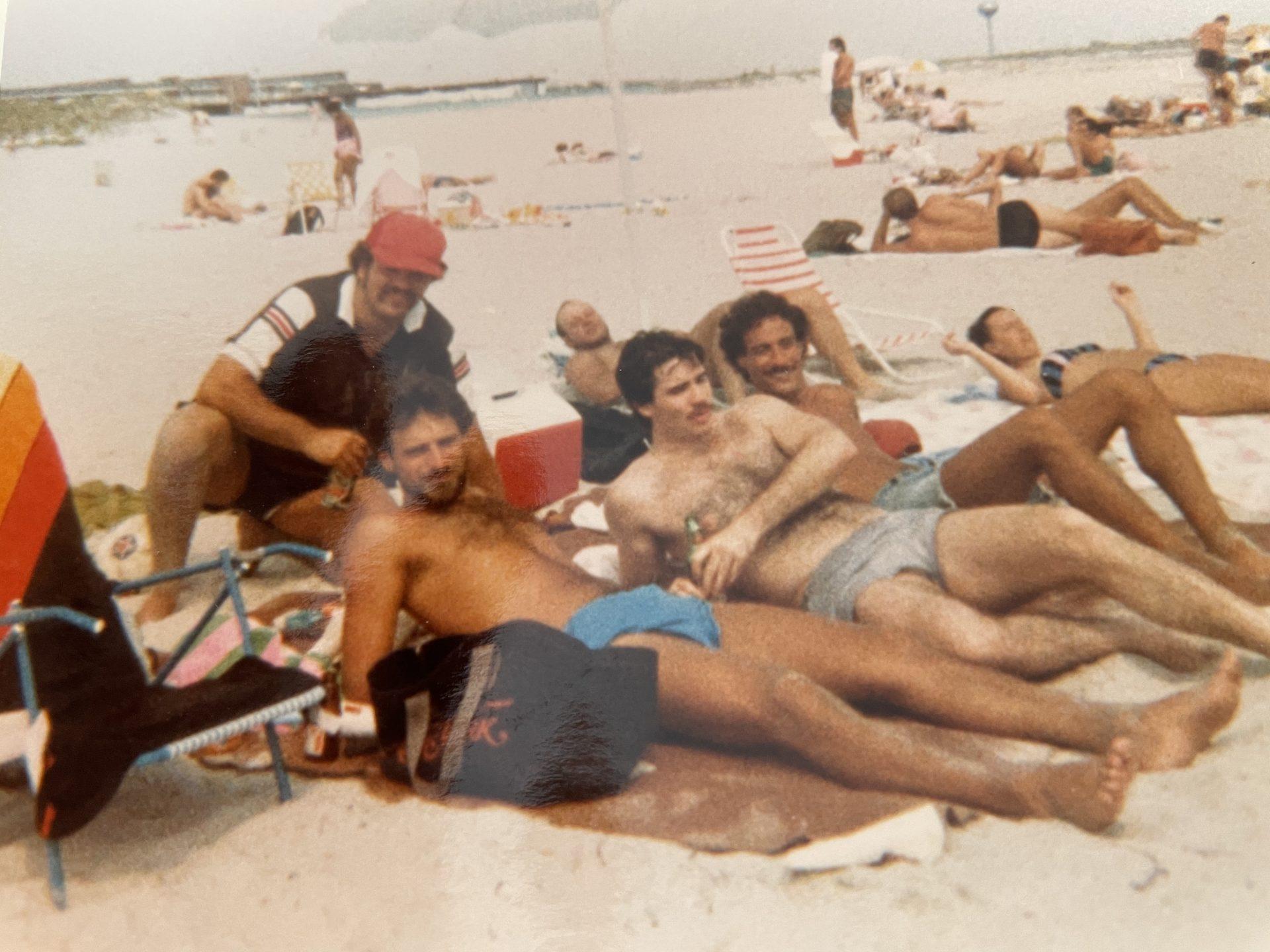 Hanging at Lido Beach