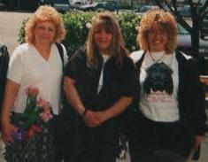 Mom, Lisa, and Sherri