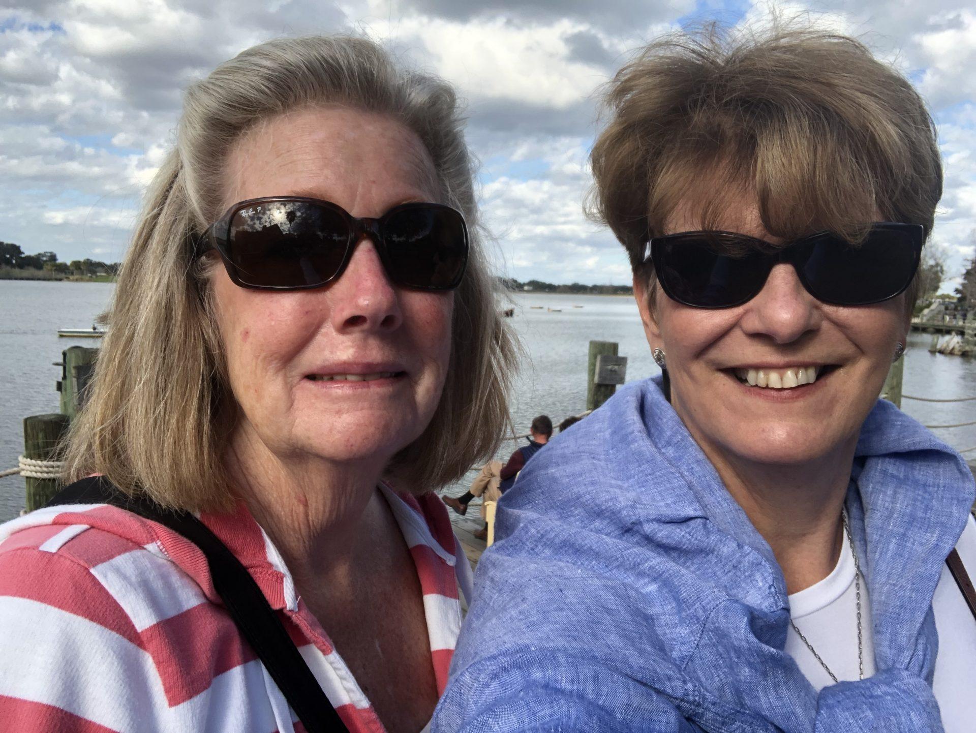 My wonderful friend Diane and me in 2019