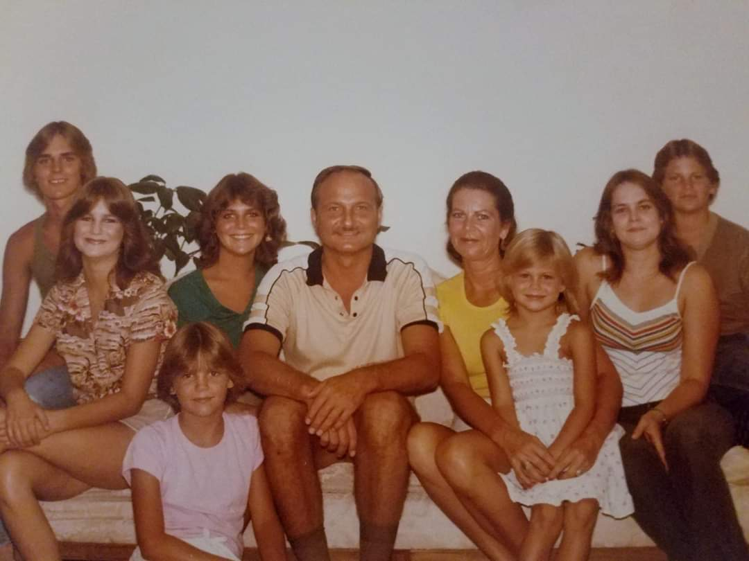 Family picture back in the day... late 70's