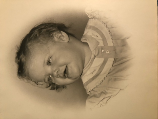 Kathy's baby picture.
