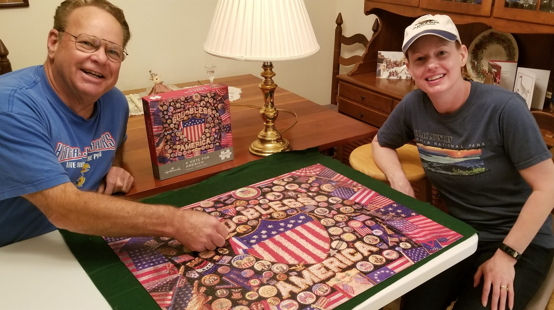 Byron & Julie<br /> Putting the last piece in the puzzle