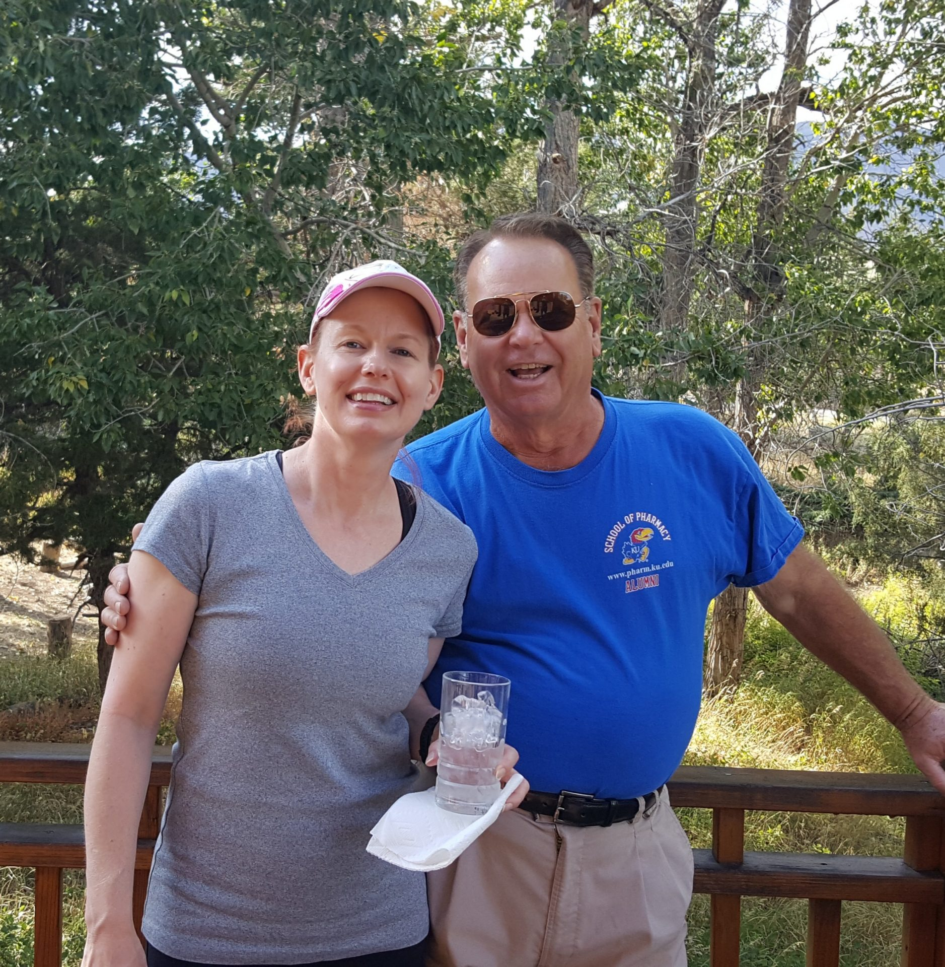 Byron & Julie in Yellowstone NP
