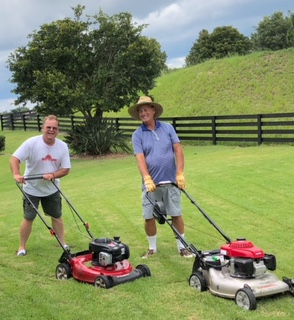 Just an example of the kind of person that Byron was. He loved to do things together. I think he mowed my yard more than I did. We had great fun doing it together. He was the kind of person that just loved helping others. A kind, warm, and giving person that never met a stranger.