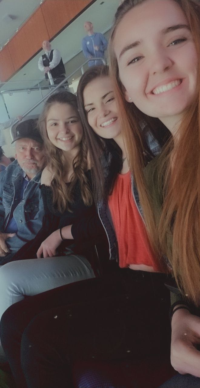 Dad, we loved our hockey games with you !! We will keep this tradition alive in your name . We love you and miss you so much