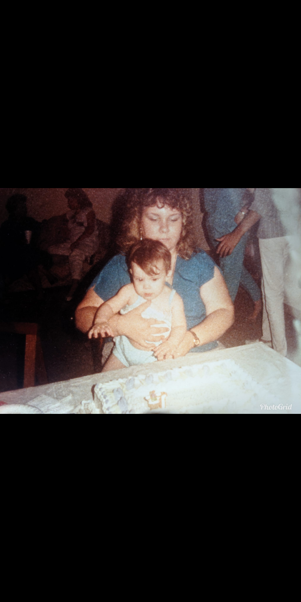 Dominique and Aunt Rhonda<br /> 1985