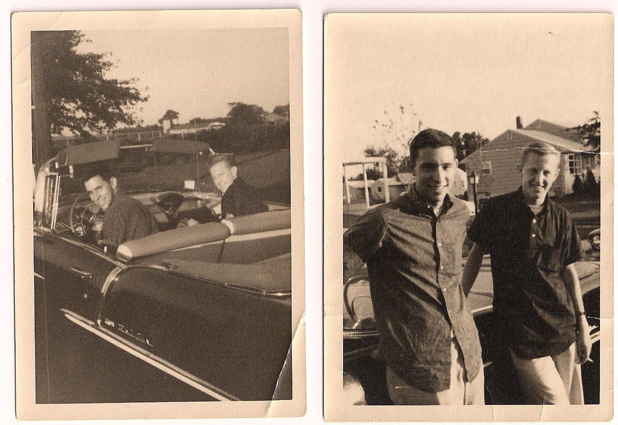 Jere & I from September, 1960