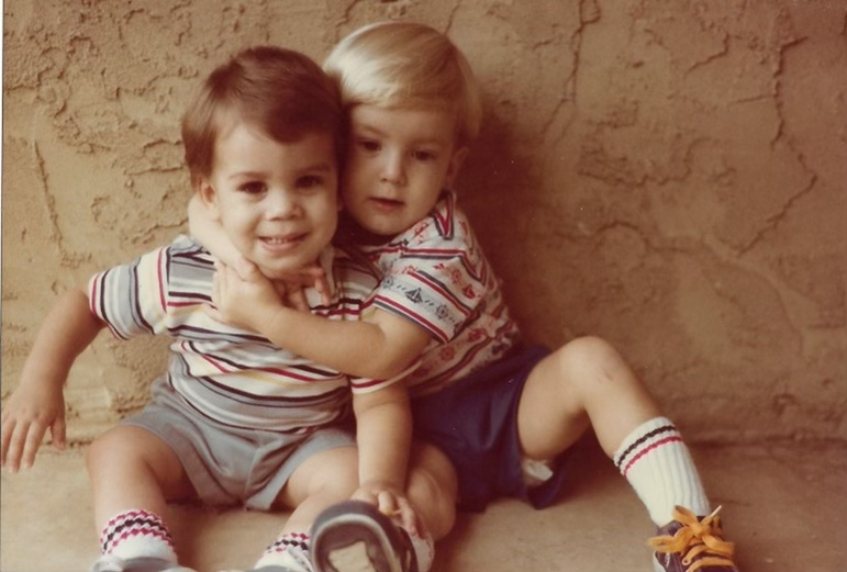 One of my favorite photos from when Brian and Brent were toddlers. Delaware 1983