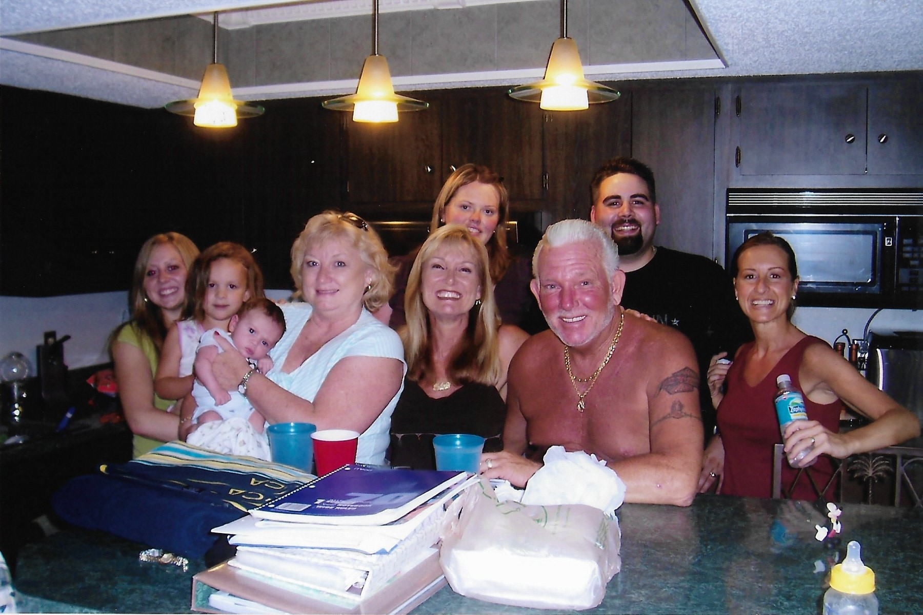 Brent and Krissy visiting in 2006. Crystal River.