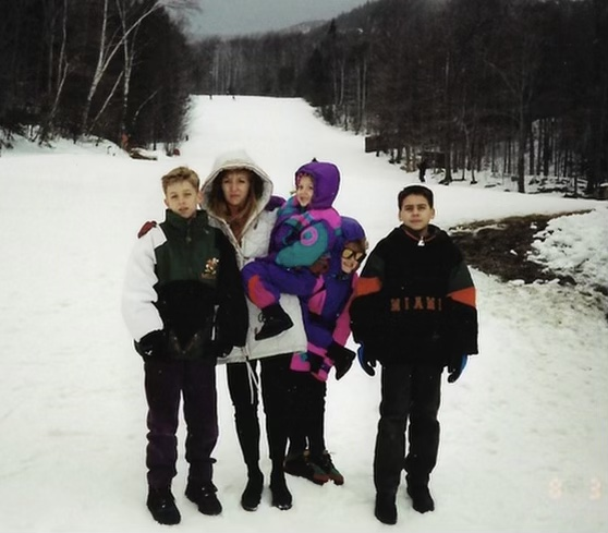 Part of our group to Lake Placid. Such a fun family trip