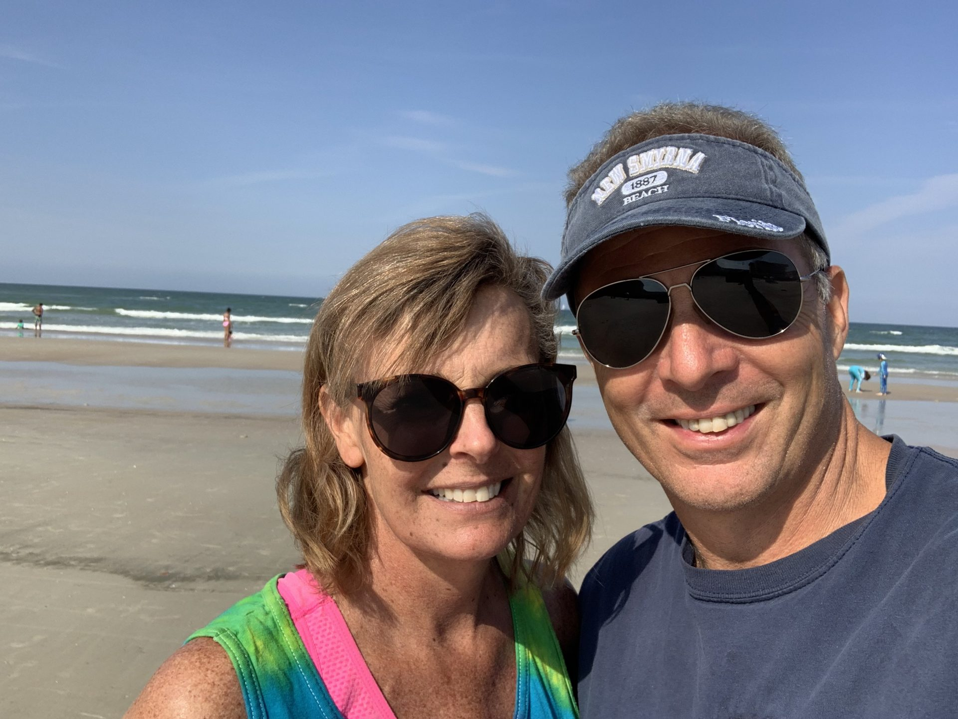 Julie and I at her favorite place the beach