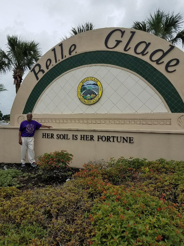 Curtis Lee Pierce<br /> Belle Glade, Florida 2018<br /> Home of Historic Lake Shore High School