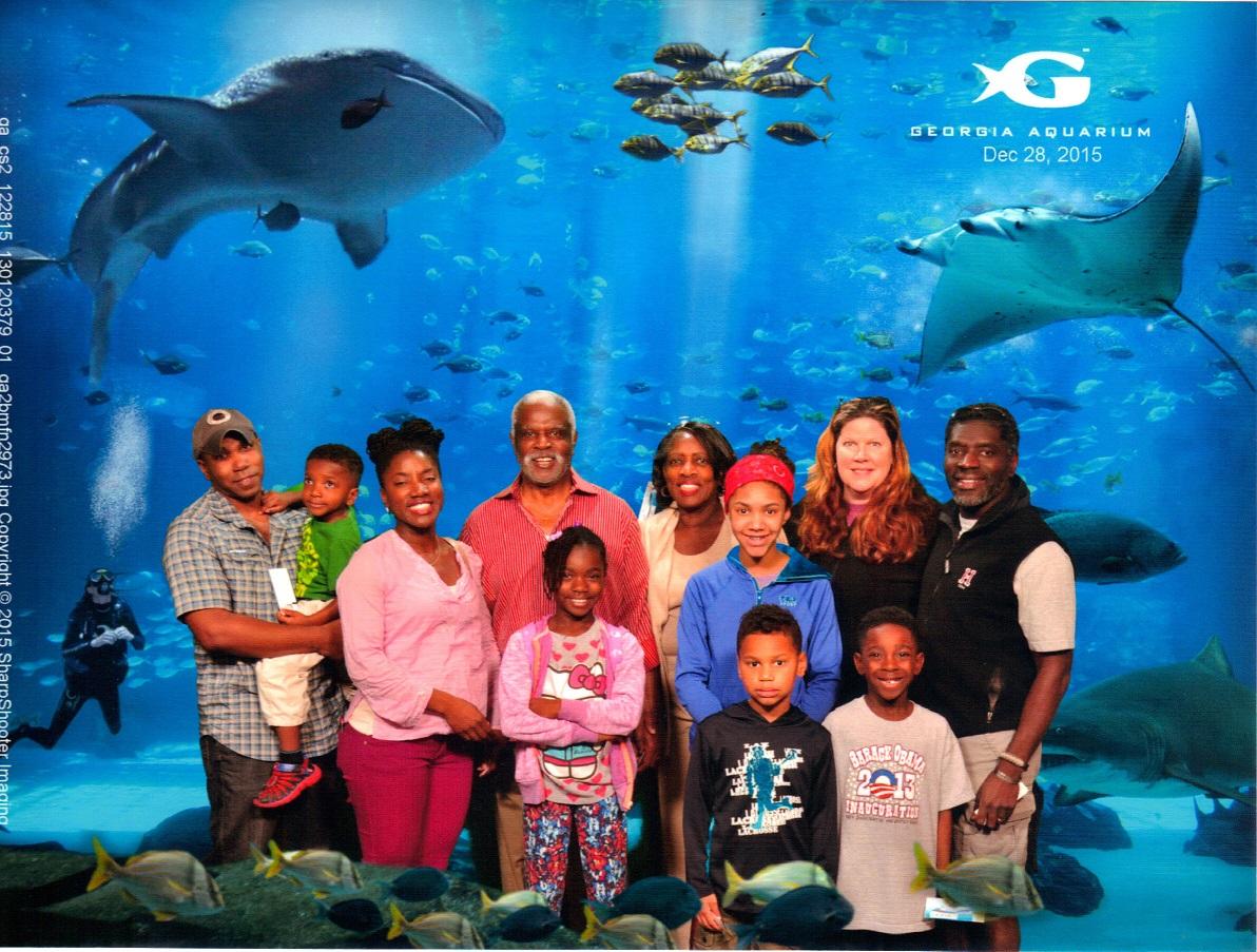 Curtis Lee Pierce<br /> Military Monday Georgia Aquarium 2015