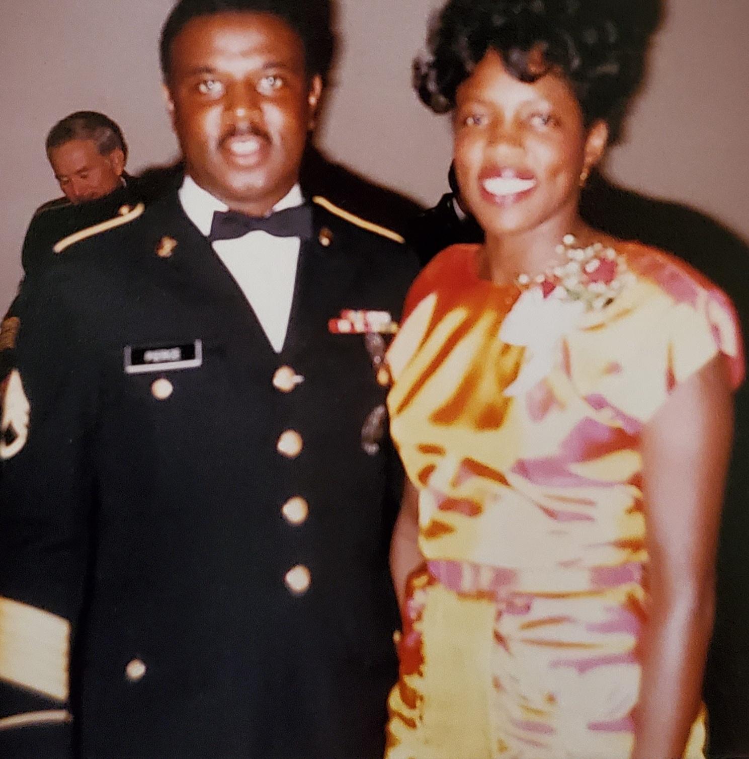 1985 U. S. Army Recruiting Command, Curtis Lee Pierce & Sharon Butts Pierce