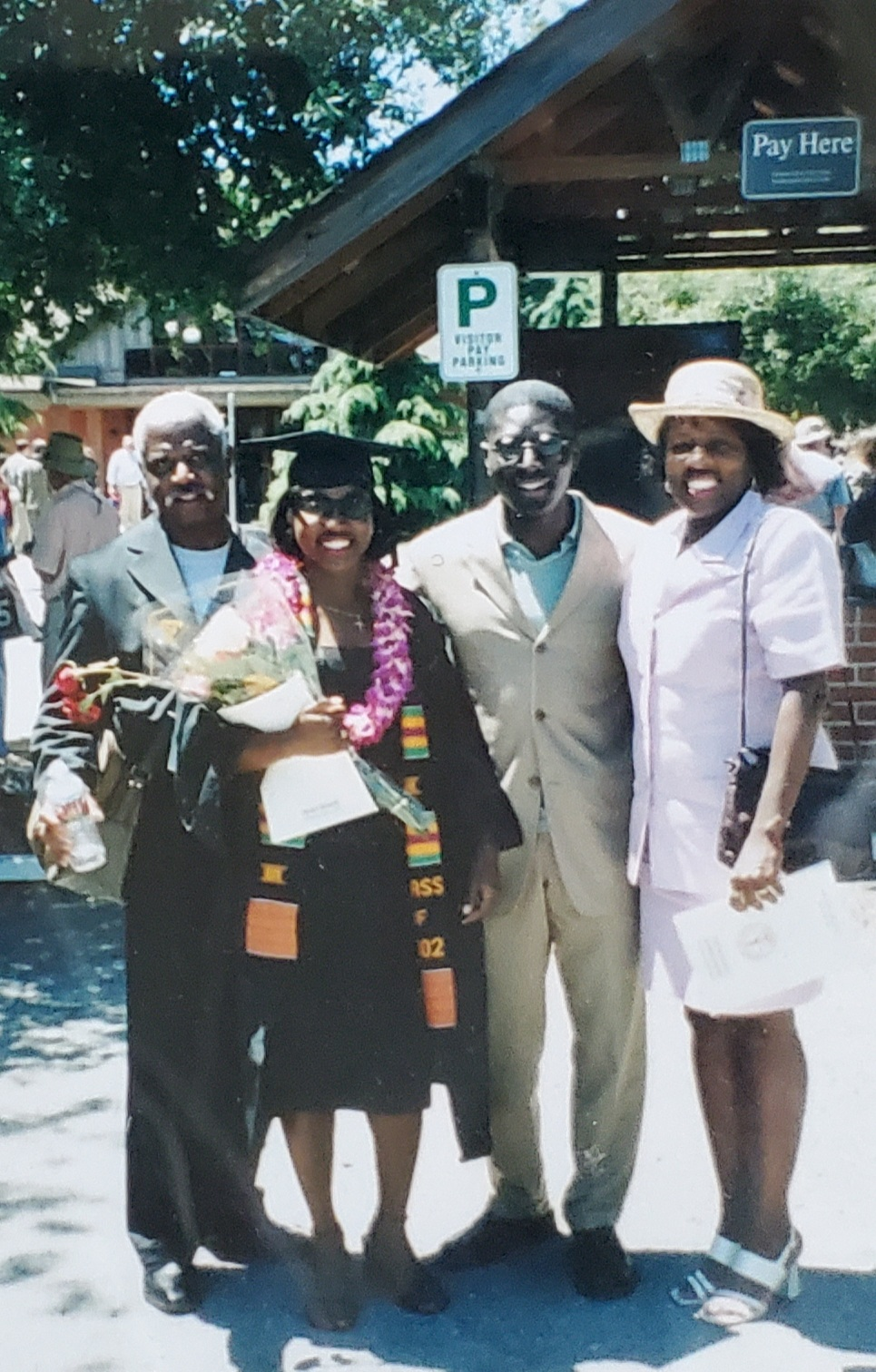 Curtis Lee Pierce<br /> Father of the Graduate, Stanford 2002