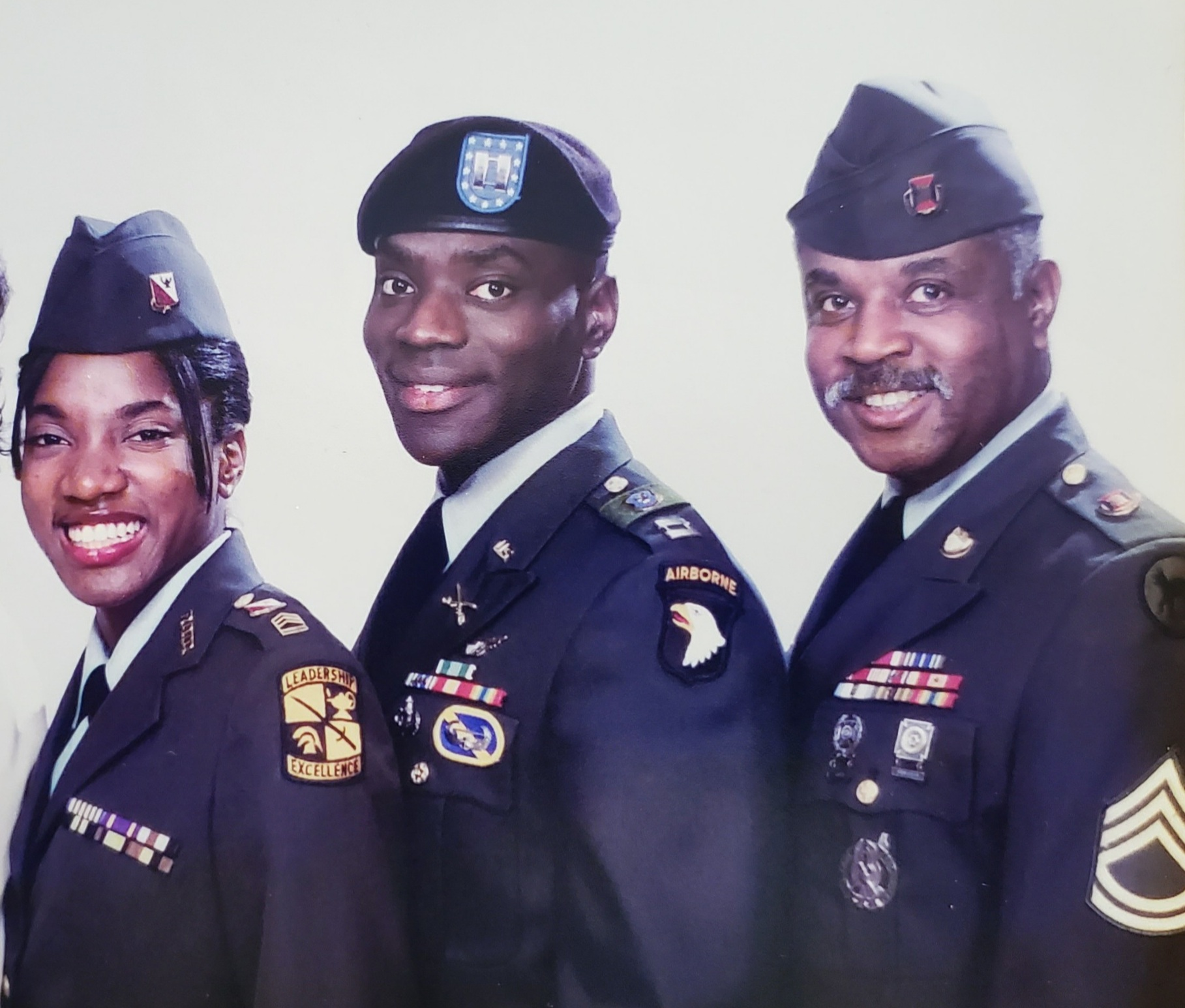 Thank You For Your Service: Cursha Pierce-Lunderman, Curtis Pierce II, Curtis Lee Pierce