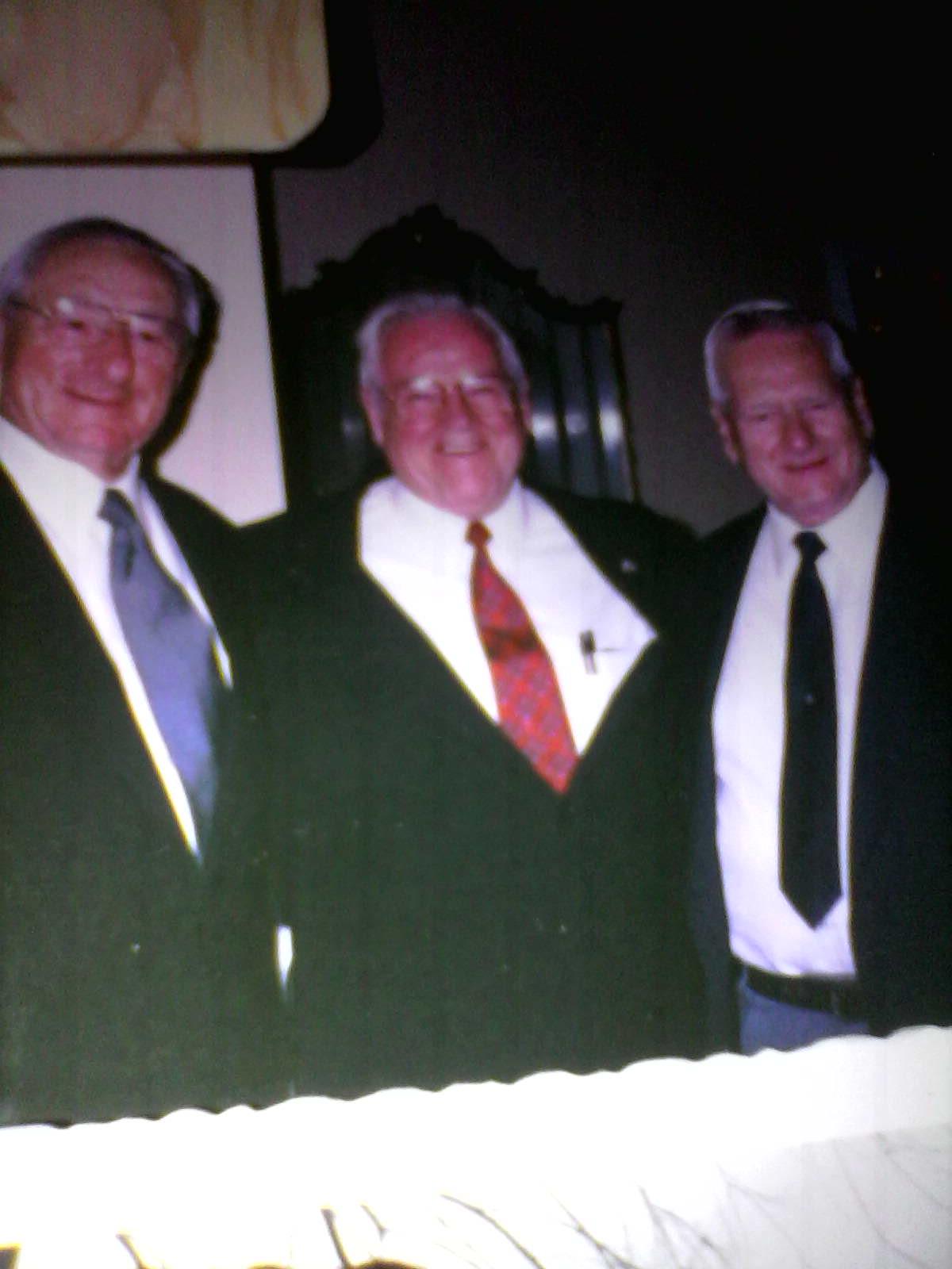 The three brothers Silvernail; Bill, David, Bob
